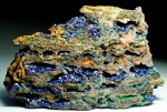 Azurite and Malachite from Bisbee, Cochise County,  Arizona [USAZMAL01]